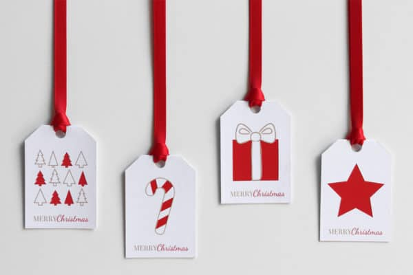 Wrapping Ideas like turning paint sample cards into fun tags is brilliant!