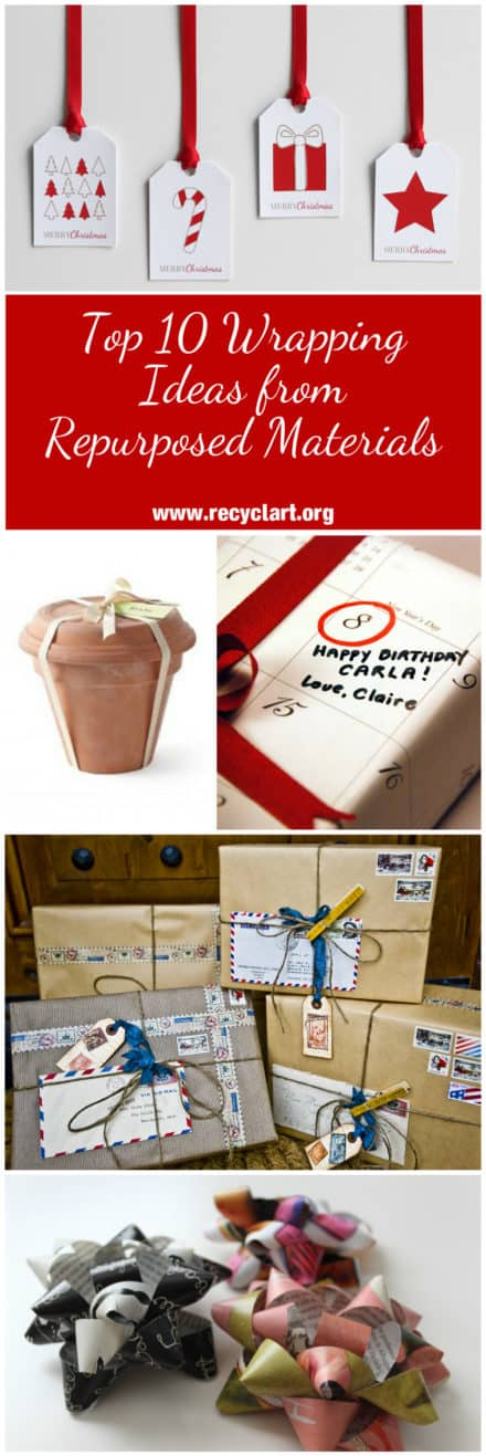 Top 10 Wrapping Ideas from Repurposed Materials