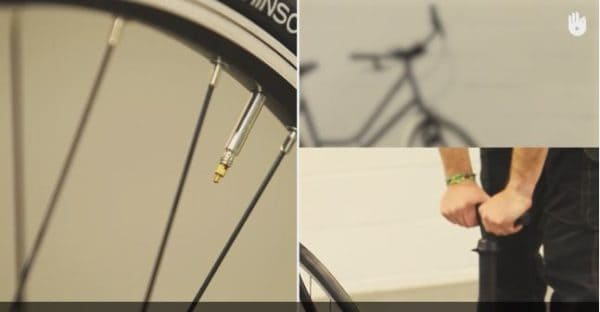 Diy Video Tutorial: Inflating Bicycle Tires Diy video tutorials Do-It-Yourself Ideas Upcycled Bicycle Parts