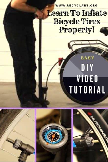 Diy Video Tutorial: Inflating Bicycle Tires