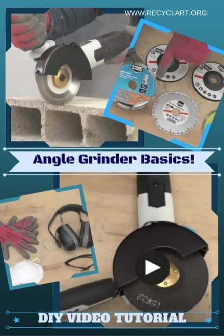 Diy Video Tutorial: Learn Angle Grinder Basics!