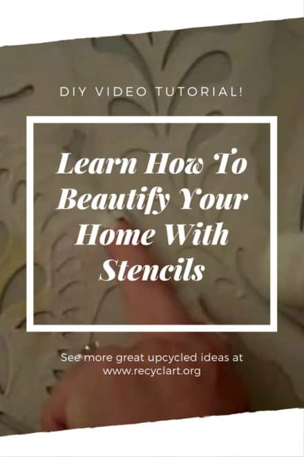 Diy Video Tutorial: Using Wall Stencils To Beautify Your Home