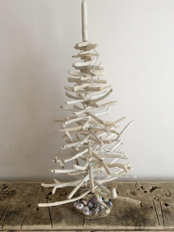 Driftwood Holiday Trees Add Natural Beauty Lamps & Lights Wood & Organic