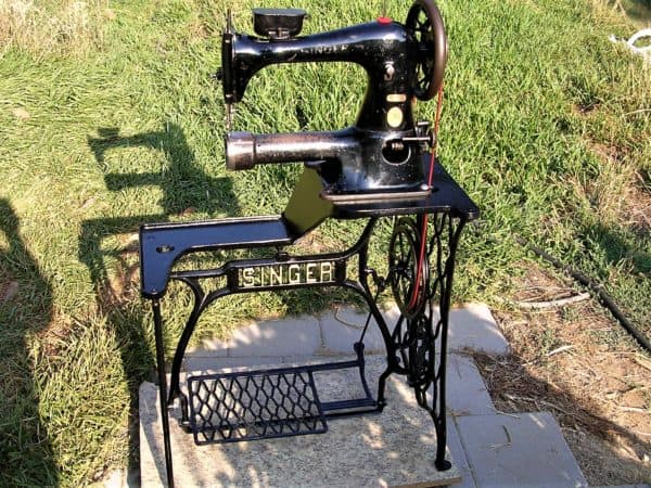 Restored Singer Industrial Sewing Machine Recyclart Awesome David Stiff Sewing Machine Repair