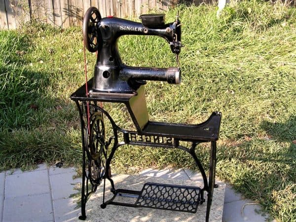 Restored Singer Industrial Sewing Machine Recyclart Fascinating David Stiff Sewing Machine Repair