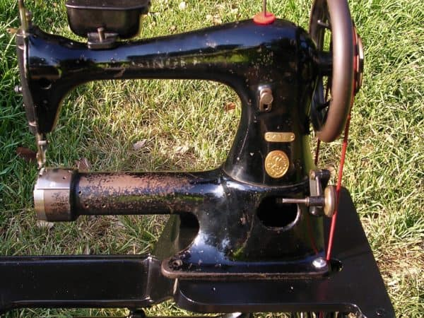 Restored Singer Industrial Sewing Machine Recyclart Cool David Stiff Sewing Machine Repair