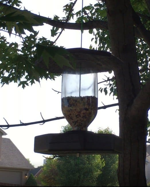 Art Ideas July 2017 the number one idea was a diy bird feeder using pallet wood and old bottles.