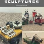 Unique Sci-fi Robot Junk Sculptures Will Keep You Guessing!