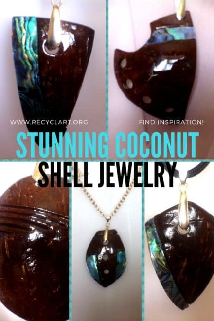 Upcycled Coconut Shell Pendants Are Gorgeous!