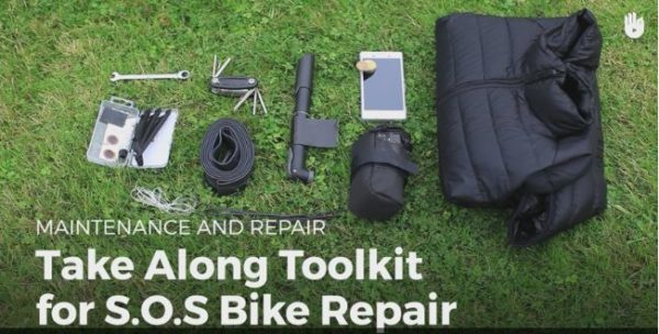 Diy Video Tutorial: Emergency Bicycle Repair Kit Diy video tutorials Upcycled Bicycle Parts