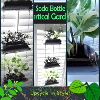 Diy Video Tutorial: Upcycled Soda Bottle Vertical Garden