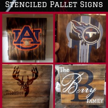 Hand Painted Pallet Plaques/Signs: Great Gifts or Wall Art!