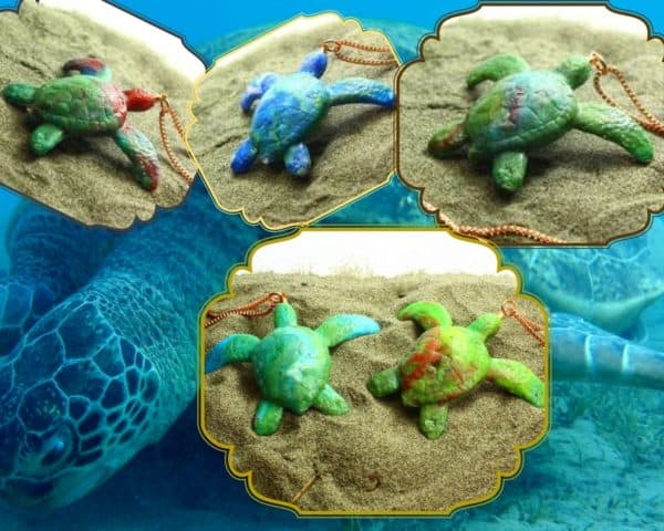 Recycled Plastic Turtles: Company Aims To Change Art! Recycled Plastic Upcycled Jewelry Ideas