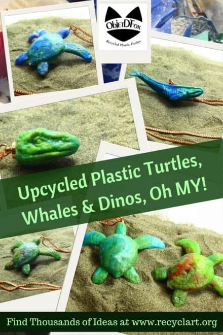 Recycled Plastic Turtles: Company Aims To Change Art!
