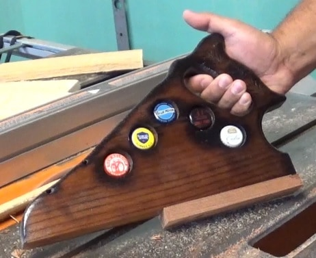 Diy Video Tutorial: Beer Cap Table Saw Push Stick Diy video tutorials