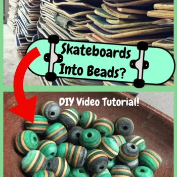 Diy Video Tutorial: Make Beads From Skateboards