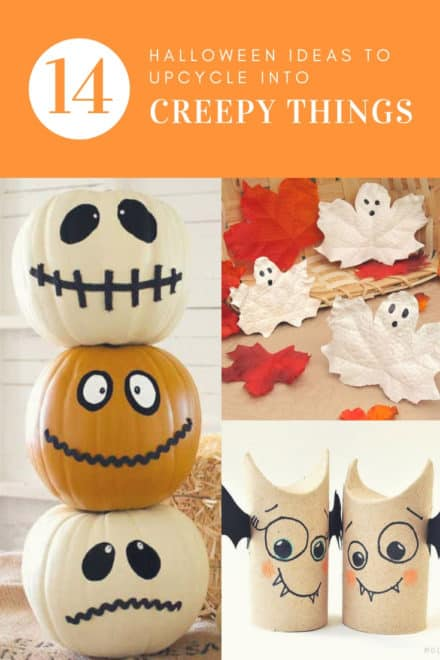 Hello Halloween: 14 Ideas to Upcycle Into Creepy Things