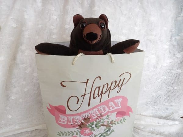 These cheerful Upcycled Teddy Bears make amazing gifts.