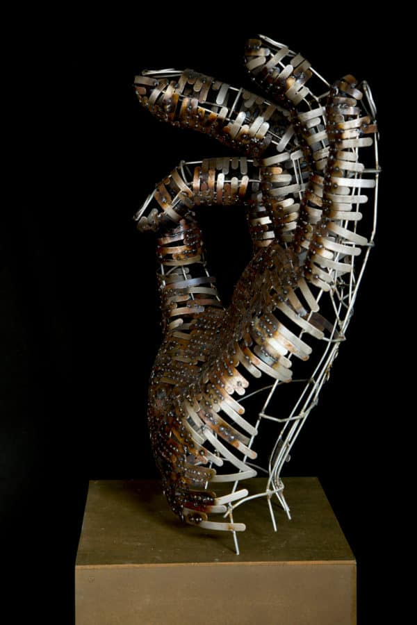 Unbelievable Upcycled Metal Sculptures Recycled Art Recycling Metal