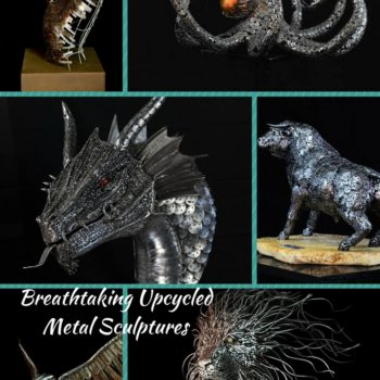Unbelievable Upcycled Metal Sculptures