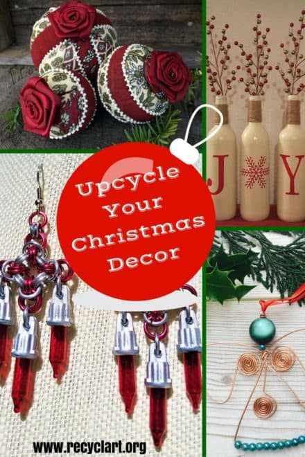 10 Easy Upcycled Christmas Decor Ideas You Can Make!