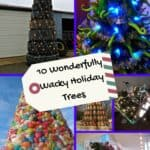 10 Weird Christmas Trees Made Using Alternative Materials