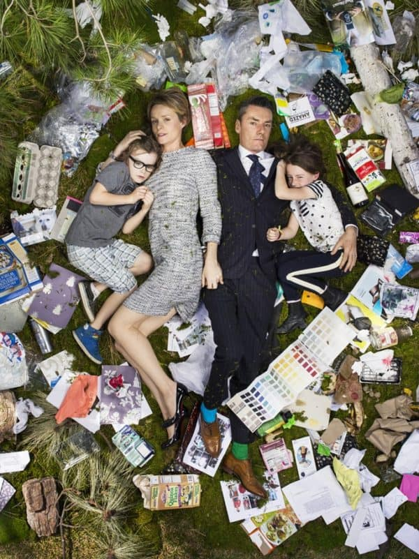 Amazing Portraits Telling the Story of Consumption & Waste