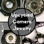 Camera Jewelry Created Using Old Broken Photog Equipment!