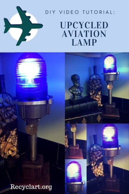 Diy Video Tutorial: Upcycled Aviation Lamp