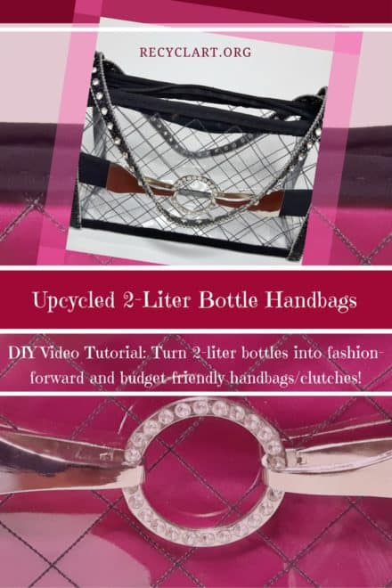 Diy Video Tutorial: Upcycled Plastic Bottle Handbag!