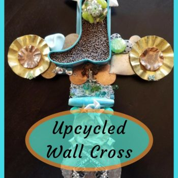 Happy Trails Upcycled Western Wall Cross