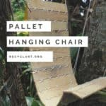Outdoor Pallet Hanging Chair