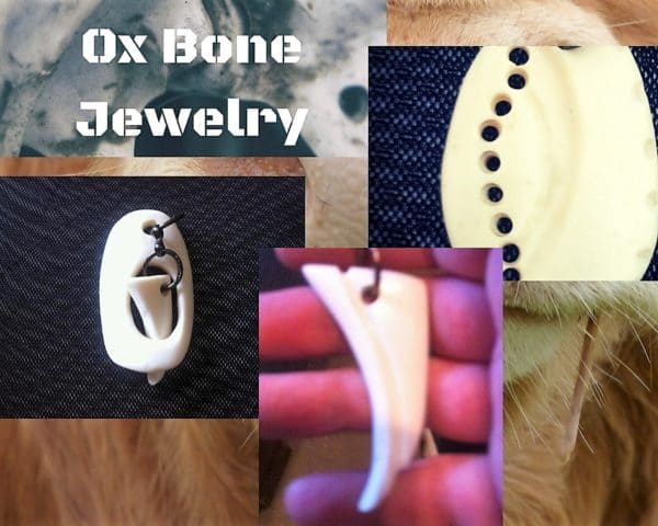 Don't give those bones to the dogs. Turn them into Upcycled Jewelry Pieces.