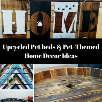 Upcycled Dog Beds/Supplies That'll Make You Smile!