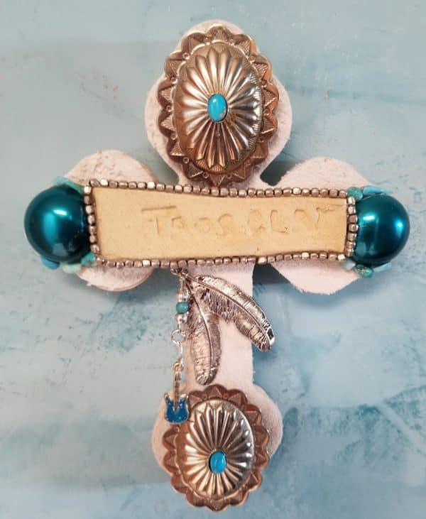 Upcycled Jewelry Becomes Cross Wall Art Recycled Art Upcycled Jewelry Ideas