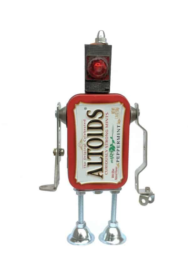 Diy Video Tutorial: Altoids Robot Army Can Be Yours! Recycled Art Recycled Packaging