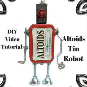 Diy Video Tutorial: Altoids Robot Army Can Be Yours!