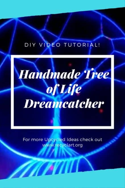 Make An Upcycled Tree Of Life Dreamcatcher