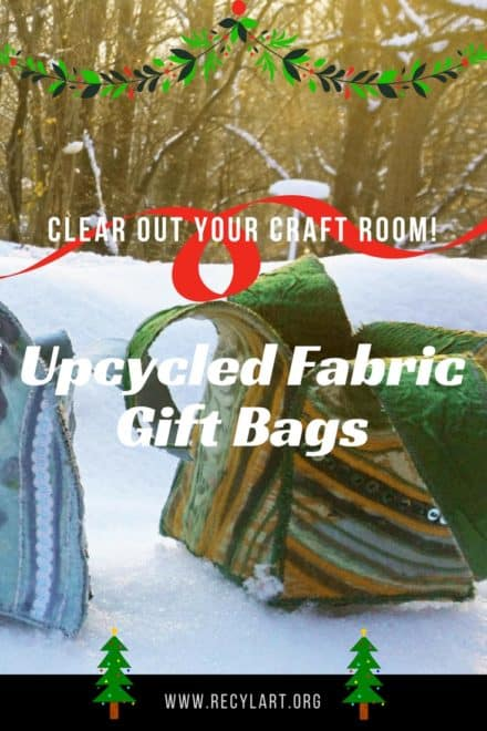 Upcycled Fabric Christmas Packaging Will Make Packages Sparkle!