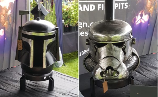 More Upcycled Fire Pits inspired by Star Wars.