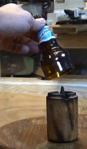 Upcycled Bottle Incense Burner: DIY Video! Diy video tutorials Recycled Glass