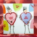 Sweetheart Dolls From Heart-shaped Lids