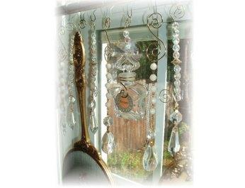 Use an upcycled Mirror Set as a window treatment. You'll only need a few commonplace tools.