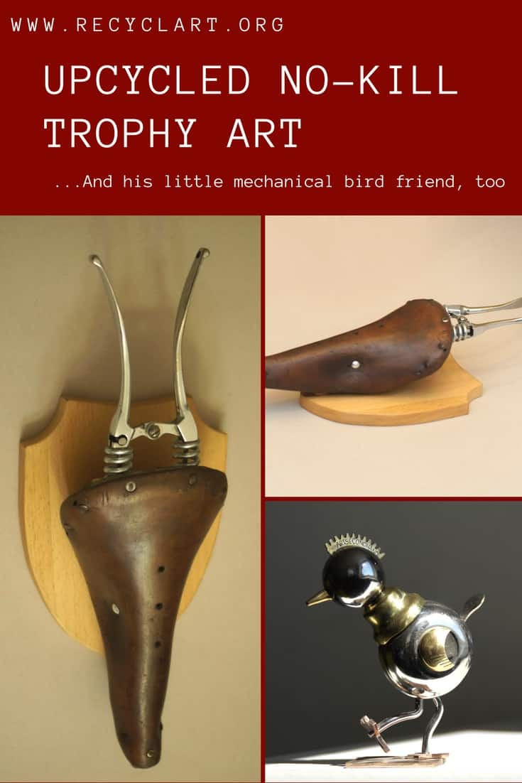 Save Your Backside While Saving Critters With A Brilliant Upcycled No Kill  Trophy Head Made