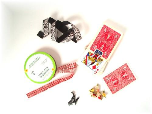 Upcycled Playing Card Dolls Make Great Gifts! Recycled Art Recycling Paper & Books