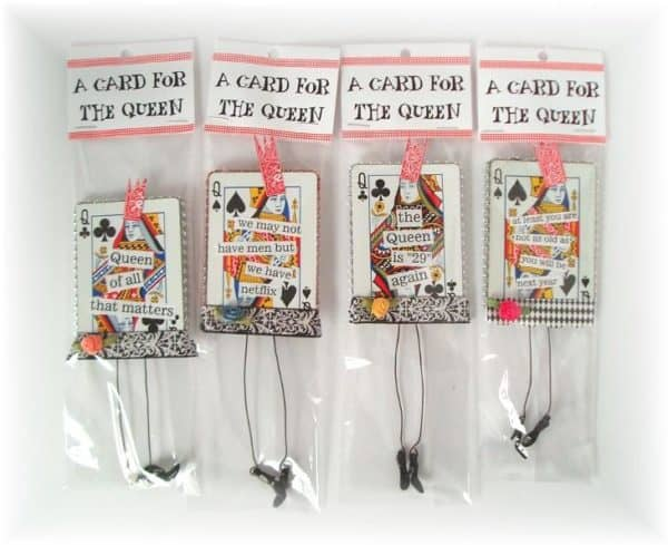 These Card Dolls make great gifts for the queen or princess in your life.