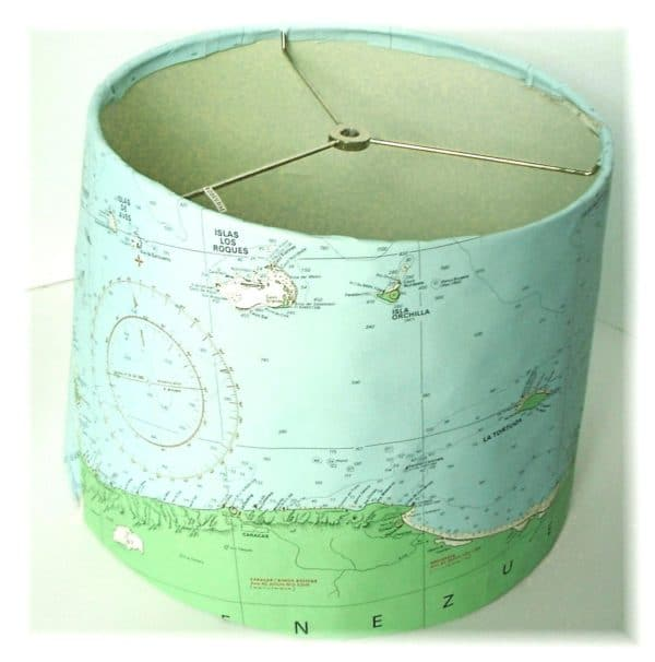 Map Lampshade.