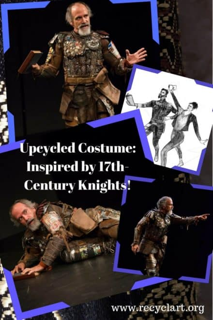 17th Century Inspired Upcycled Knight Costume