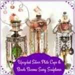 Sassy Upcycled Silverplate Sculptures You Can Make!