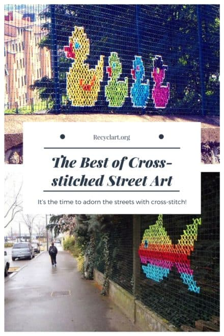 The Best of Cross-stitched Street Art